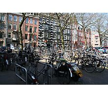 Bicycles of Amsterdam Photographic Print