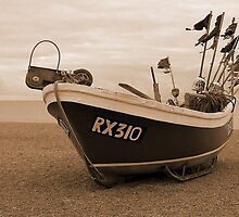 Hastings Fishing Boat by hootonles
