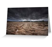 Storm Field Greeting Card