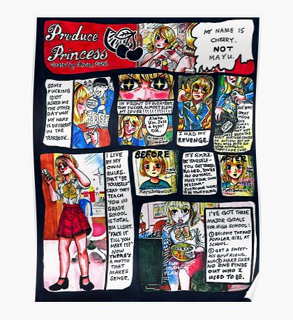 Produce Princess  Poster