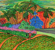 Tahitian Landscape by George Hunter