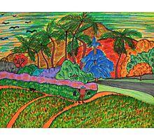 Tahitian Landscape Photographic Print