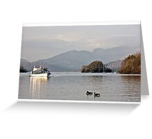 Bowness On Windermere, Miss Cumbria Greeting Card