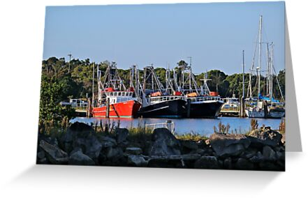 Seeing Red: Iluka Harbour, NSW by SunshineKaren