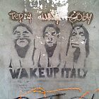 Wake-Up Italy Graffiti, Venice by ChrisCiolli