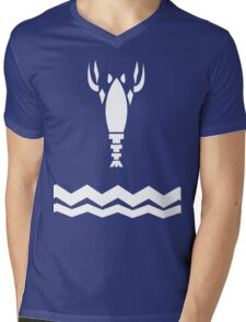 Casual Link Shirt Mens V-Neck T-Shirt