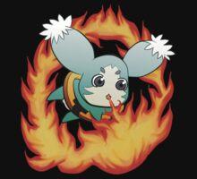 Mieu Fire! (Side badge) T-Shirt