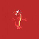 He's not a lizard. by tomoxnam