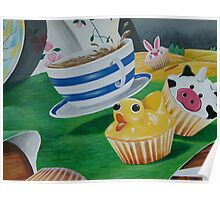 Its a Ducky Cupcake  Poster
