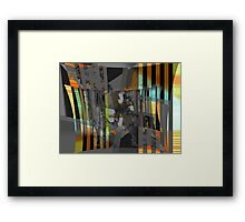 Storm Passing Framed Print