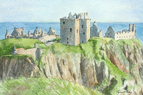 Dunnottar Castle - Aberdeenshire, Scotland by Lynne  Kirby