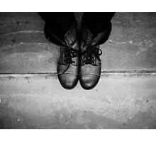Boots Photographic Print