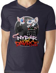 Nyder & Davros Mens V-Neck T-Shirt
