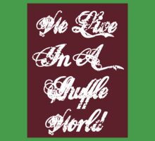 We Live In A Shuffle World Baby Tee