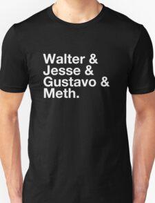 Walter & Jesse & Gustavo & Meth T-Shirt