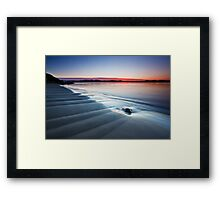 Blinking Billy Point, Tasmania Framed Print