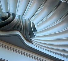 Scalloped Pediment by John Schneider