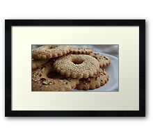 biscuits Framed Print