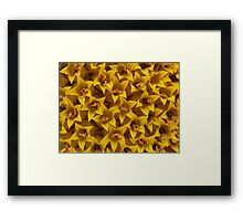 flowers within a flower. Framed Print