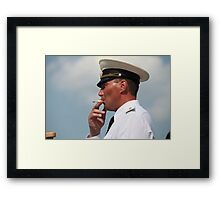 Warrant Officer Framed Print
