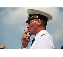 Warrant Officer Photographic Print