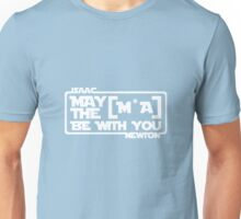 Jedi Newton uses the Force Unisex T-Shirt