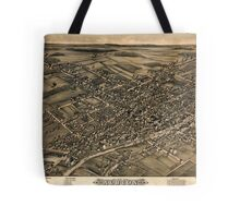 Panoramic Maps View of Albion NY 1880 Tote Bag