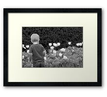 No Minimum Age Framed Print