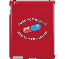 Kaneda Jacket - Good for Health iPad Case/Skin