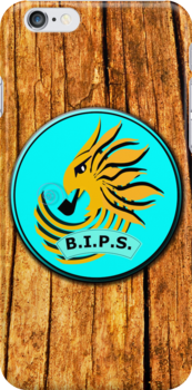 BIPS Phone Cover  by velveteagle