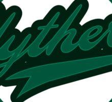 Slytherin Baseball Style Logo Sticker