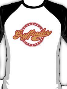 Gryffindor Baseball Style Logo T-Shirt