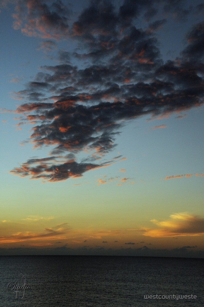 Sunset - December 10, 2011 by westcountyweste