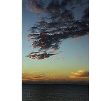 Sunset - December 10, 2011 Photographic Print