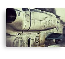 Beware of jet blast Canvas Print