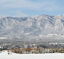 Snow Covered Hills by SeanCH