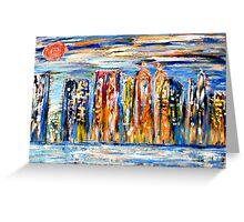 New York - Vibrant City Greeting Card
