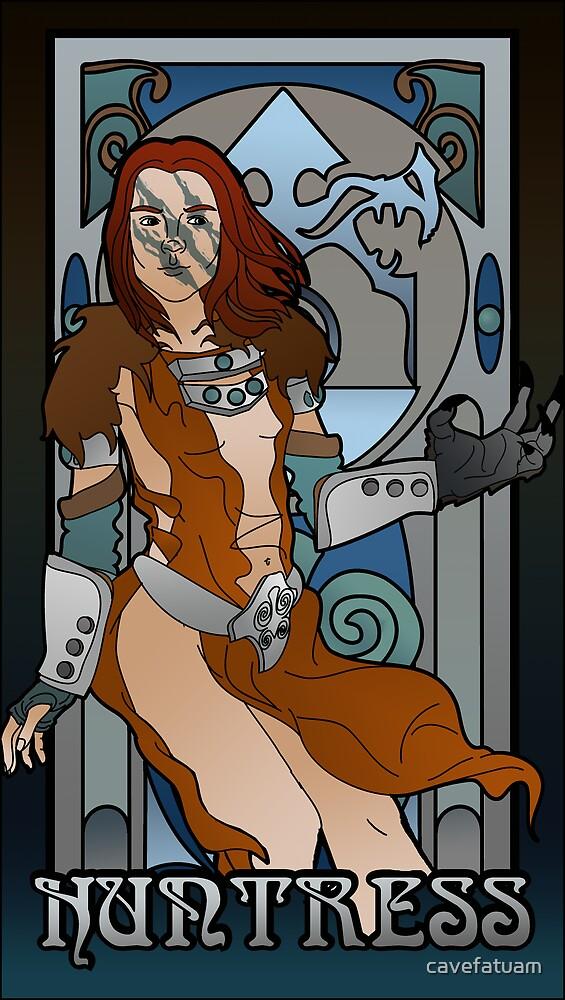 Huntress by cavefatuam