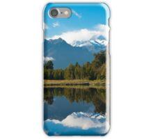 Lake Matheson, New Zealand iPhone Case/Skin