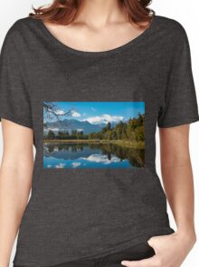Lake Matheson, New Zealand Women's Relaxed Fit T-Shirt