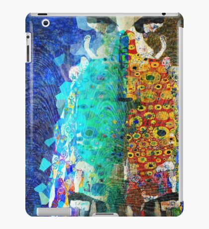 Gustav Klimt Glitch - Hope II iPad Case/Skin