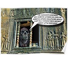 Rasta Zombie in Cambodia Poster