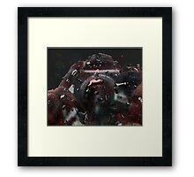 drops of self Framed Print