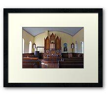 Inside St Olaf Framed Print