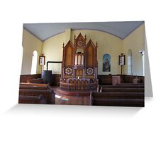 Inside St Olaf Greeting Card