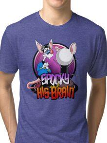 Spocky & His Brain Tri-blend T-Shirt