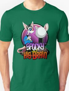 Spocky & His Brain Unisex T-Shirt