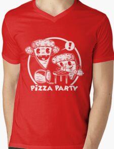 Pizza Party Mens V-Neck T-Shirt