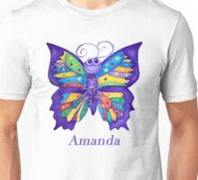 A Yoga Butterfly for Amanda Unisex T-Shirt