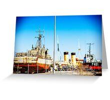 Ships Ahoy! Greeting Card